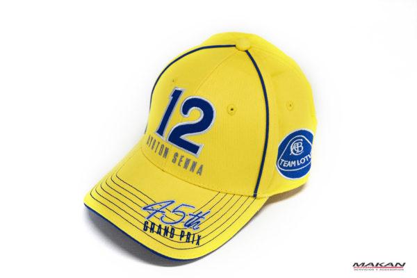 Gorra Ayrton Senna Team Lotus