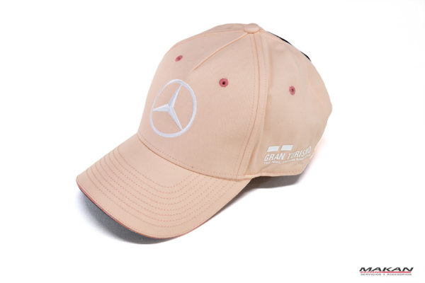 Gorra Mercedes-Benz Rosada