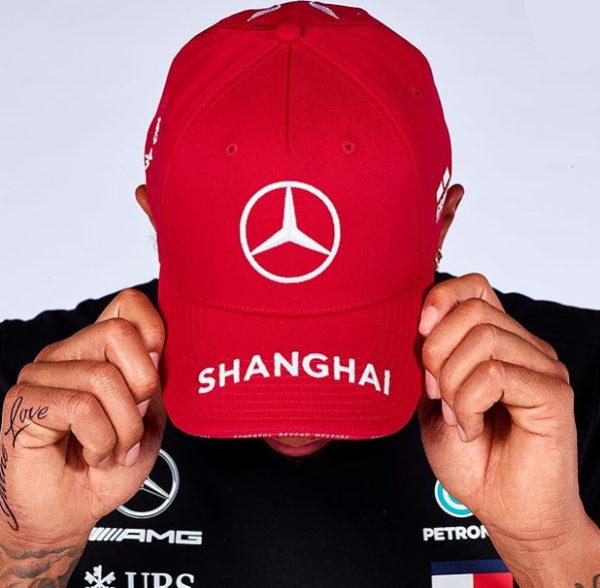 Gorra Mercedes AMG Petronas Shanghai